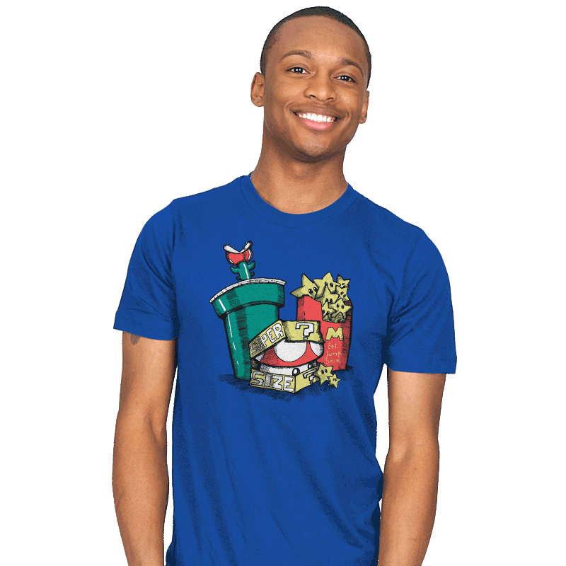 Fast Food Kingdom - Mens - T-Shirts - RIPT Apparel