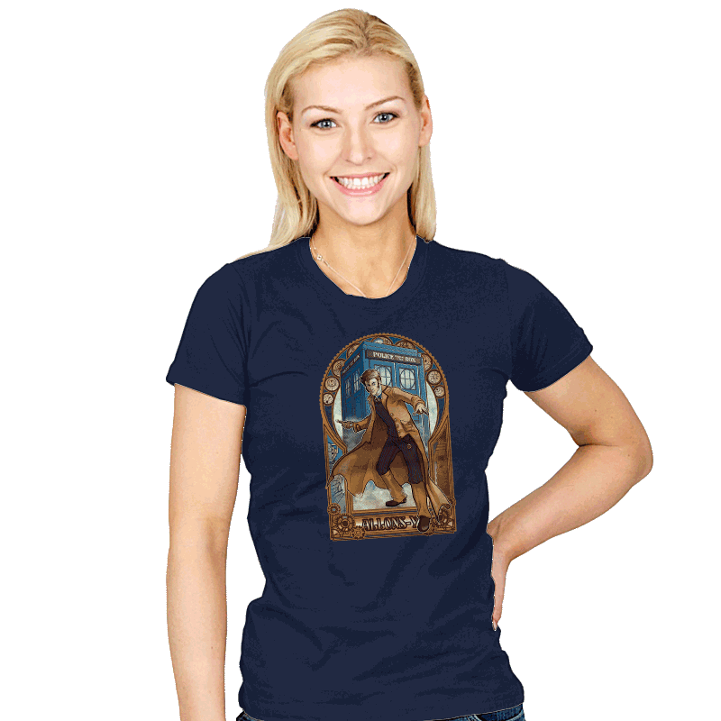 Physicker Whom - Womens - T-Shirts - RIPT Apparel