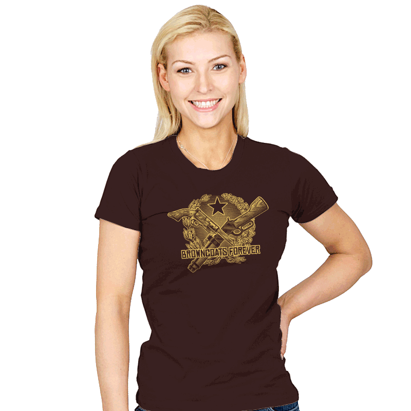 Browncoats Forever - Womens - T-Shirts - RIPT Apparel