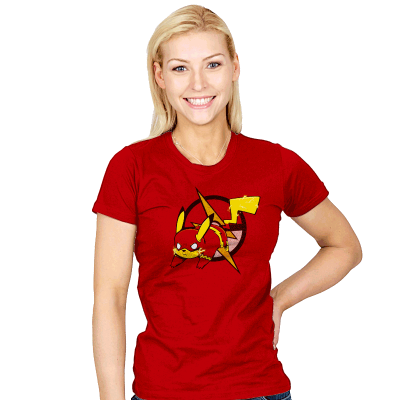 Pikaflash - Womens - T-Shirts - RIPT Apparel