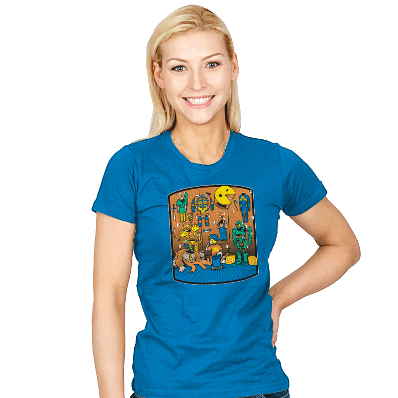 Gamer's Closet - Womens - T-Shirts - RIPT Apparel