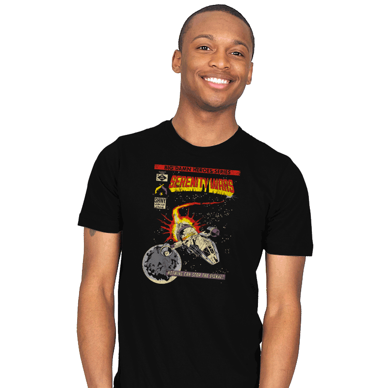 Serenity Wars - Mens - T-Shirts - RIPT Apparel