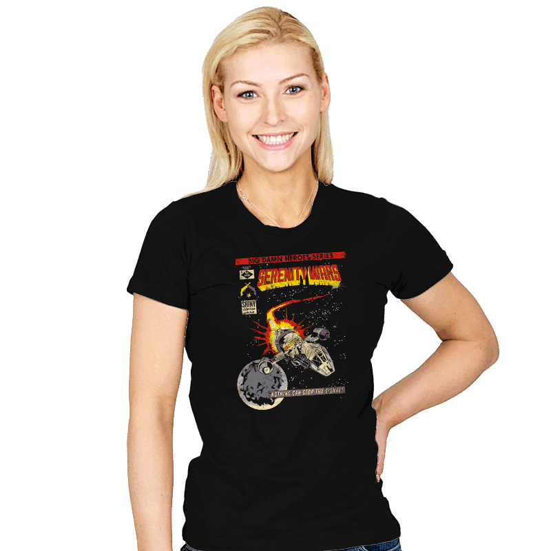 Serenity Wars - Womens - T-Shirts - RIPT Apparel