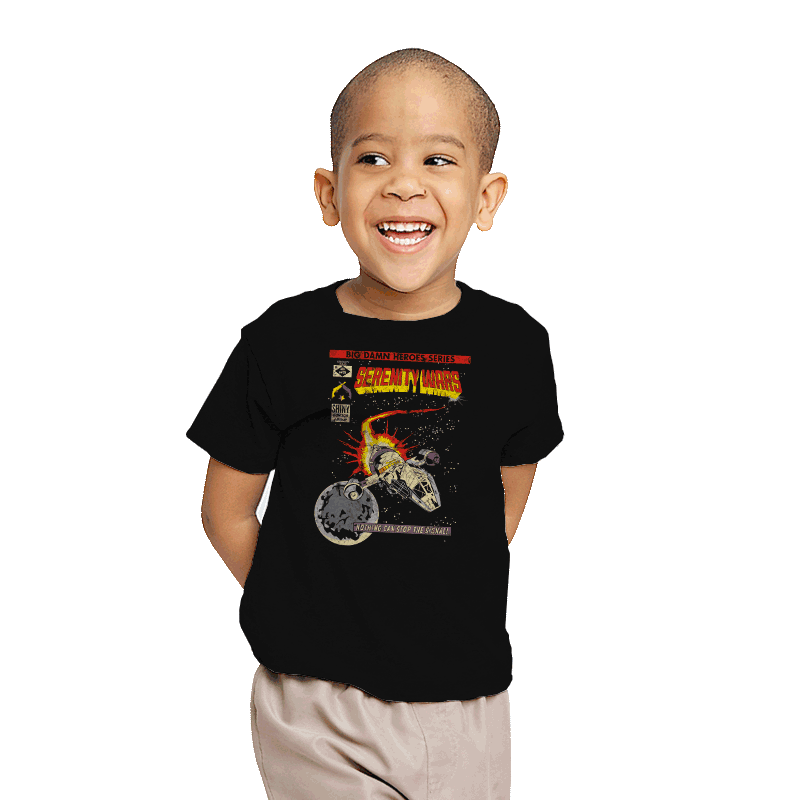 Serenity Wars - Youth - T-Shirts - RIPT Apparel