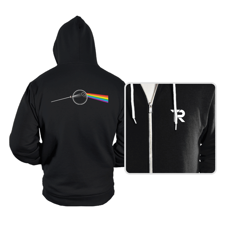 Dark Side of... That's NO MOON! - Hoodies - Hoodies - RIPT Apparel