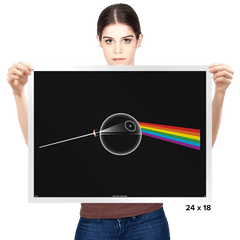 Dark Side of... That's NO MOON! - Prints - Posters - RIPT Apparel