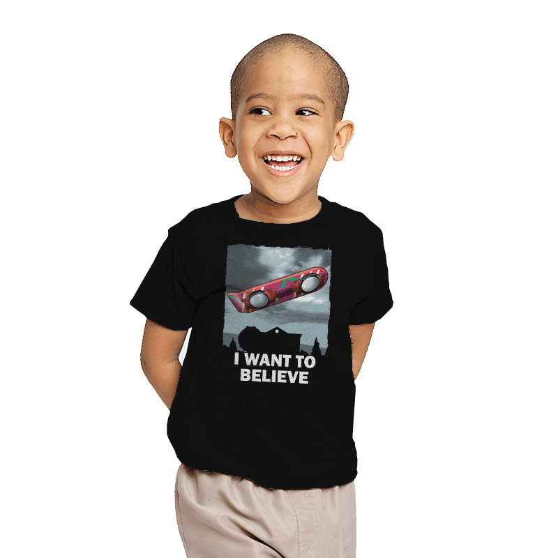 I Want To Believe - Youth - T-Shirts - RIPT Apparel