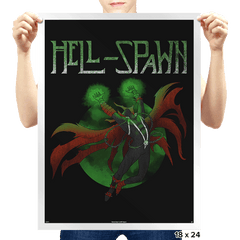 Spawn Song - Prints - Posters - RIPT Apparel