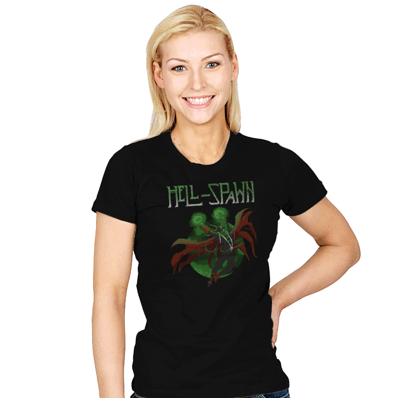Spawn Song - Womens - T-Shirts - RIPT Apparel