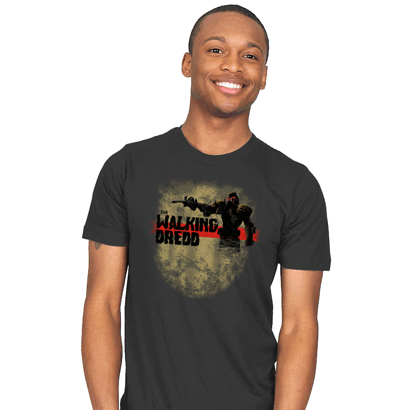 The Walking Dredd - Mens - T-Shirts - RIPT Apparel