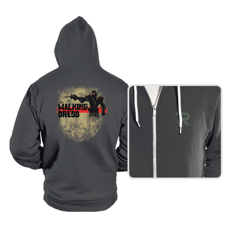 The Walking Dredd - Hoodies - Hoodies - RIPT Apparel