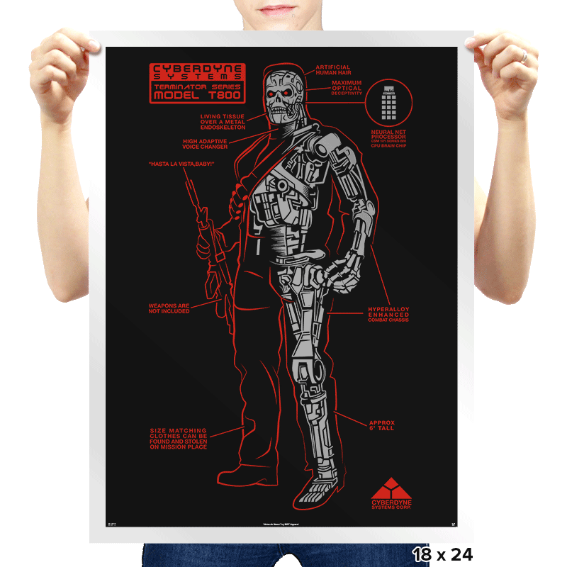 Killing Machine - Prints - Posters - RIPT Apparel