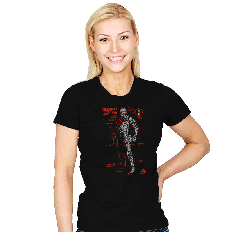 Killing Machine - Womens - T-Shirts - RIPT Apparel