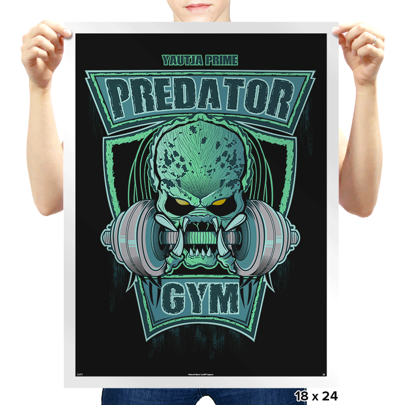 Predator Gym - Prints - Posters - RIPT Apparel
