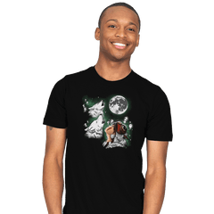 Princess Wolf Moon - Mens - T-Shirts - RIPT Apparel
