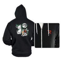 Princess Wolf Moon - Hoodies - Hoodies - RIPT Apparel