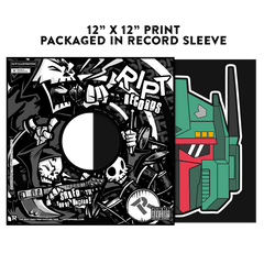 Optimus Fett - Album Cover Prints - Posters - RIPT Apparel