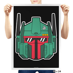 Optimus Fett - Prints - Posters - RIPT Apparel