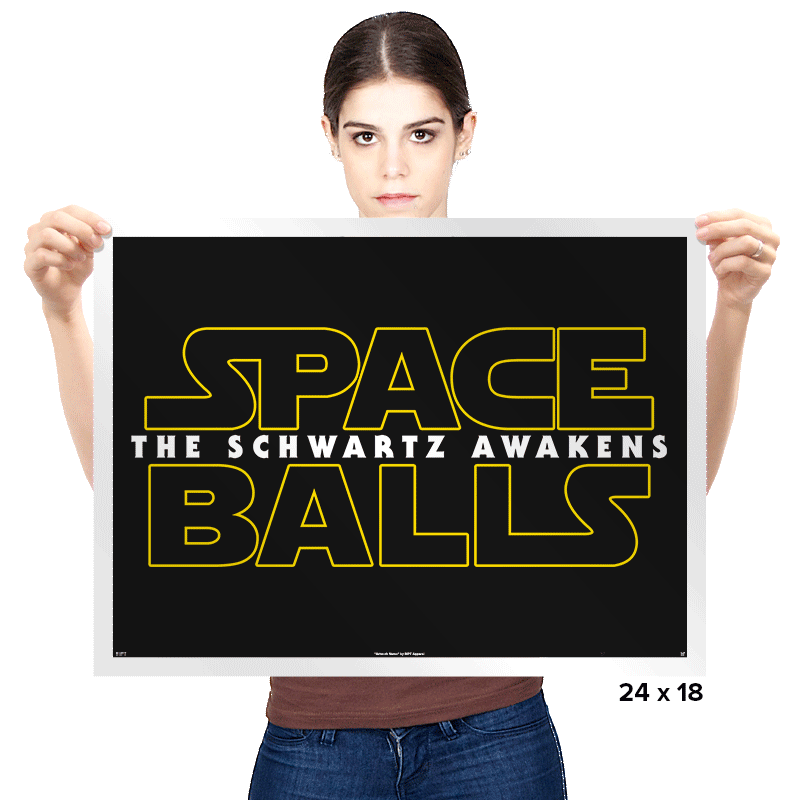 The Schwartz Awakens Exclusive - Prints - Posters - RIPT Apparel