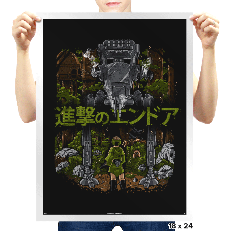 Attack on Endor Exclusive - Prints - Posters - RIPT Apparel