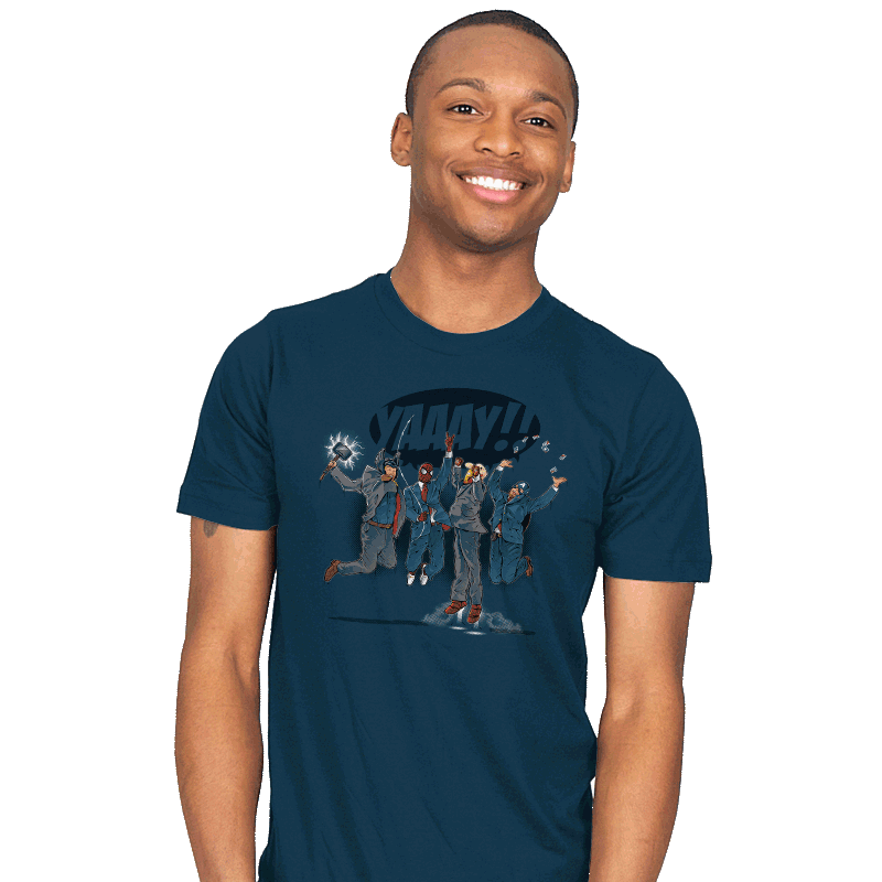 News Team Assemble Exclusive - Mens - T-Shirts - RIPT Apparel