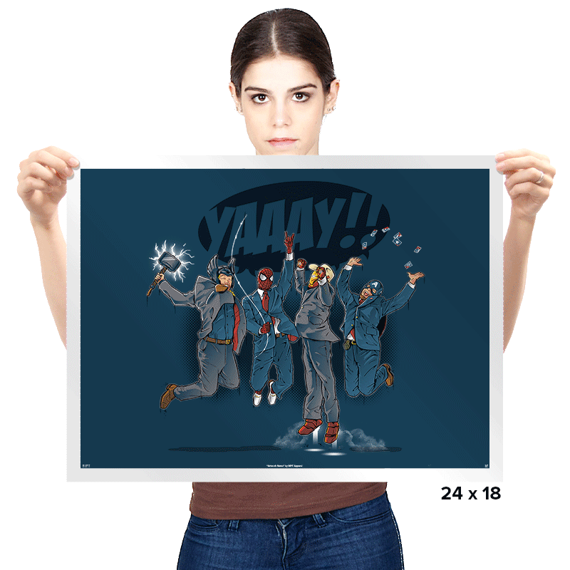 News Team Assemble Exclusive - Prints - Posters - RIPT Apparel