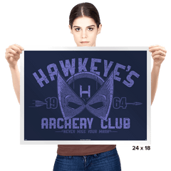 Archery Club Exclusive - Prints - Posters - RIPT Apparel