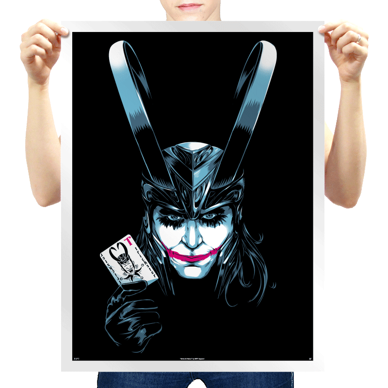 The Trickster Exclusive - Prints - Posters - RIPT Apparel