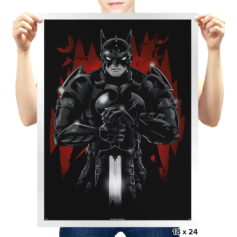 Darkest Knight Exclusive - Prints - Posters - RIPT Apparel
