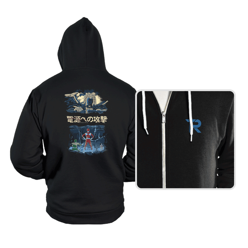 Attack on Goldar - Hoodies - Hoodies - RIPT Apparel