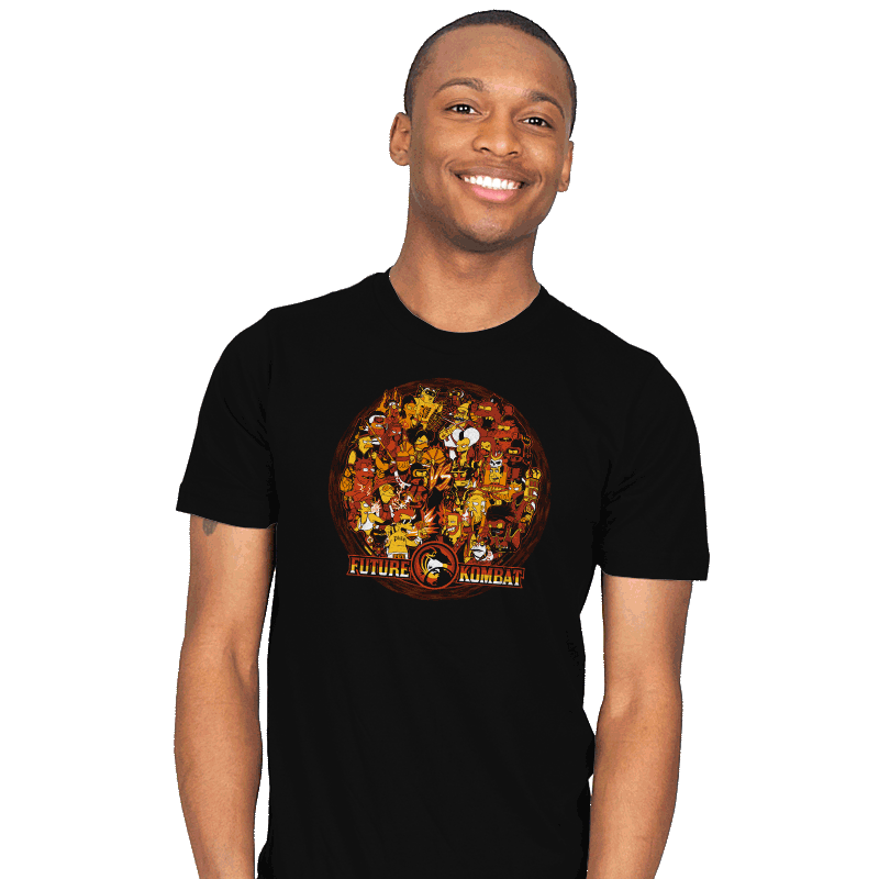 Future Kombat - Mens - T-Shirts - RIPT Apparel