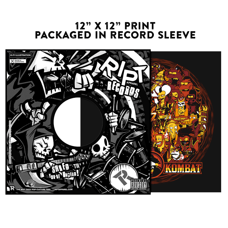 Future Kombat - Album Cover Prints - Posters - RIPT Apparel