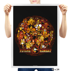 Future Kombat - Prints - Posters - RIPT Apparel