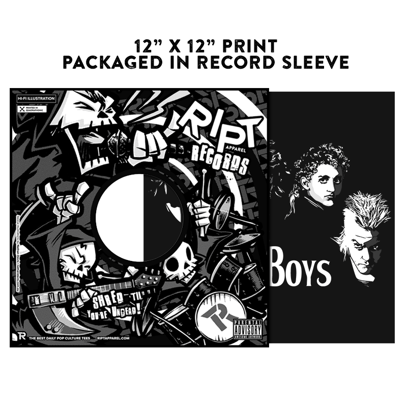 The Lost Boys - Album Cover Prints - Posters - RIPT Apparel