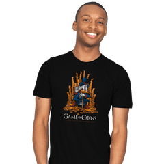 Game of Coins - Mens - T-Shirts - RIPT Apparel