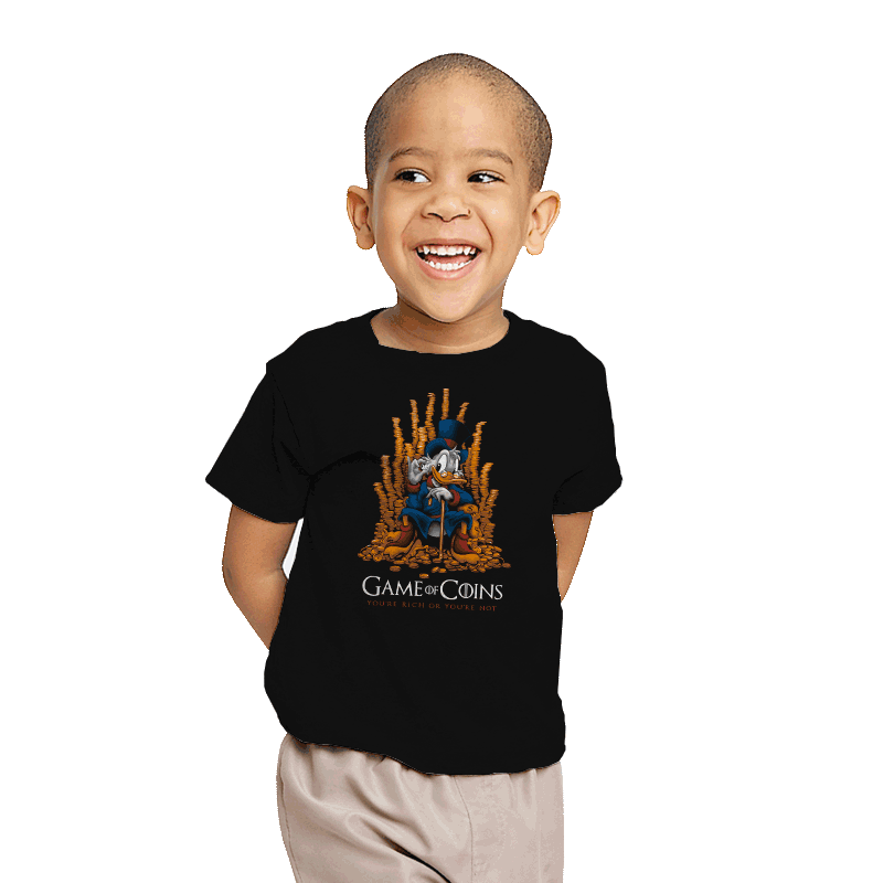 Game of Coins - Youth - T-Shirts - RIPT Apparel