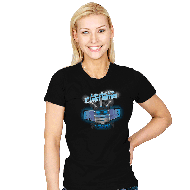 Wheeljack's Customs - Womens - T-Shirts - RIPT Apparel