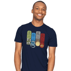 Elemental Charms - Mens - T-Shirts - RIPT Apparel