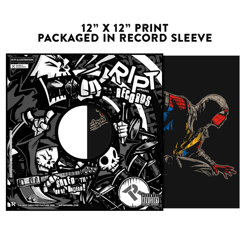 Mortal Spider X - Album Cover Prints - Posters - RIPT Apparel