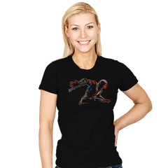 Mortal Spider X - Womens - T-Shirts - RIPT Apparel