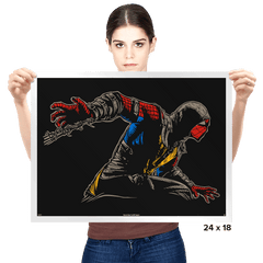 Mortal Spider X - Prints - Posters - RIPT Apparel