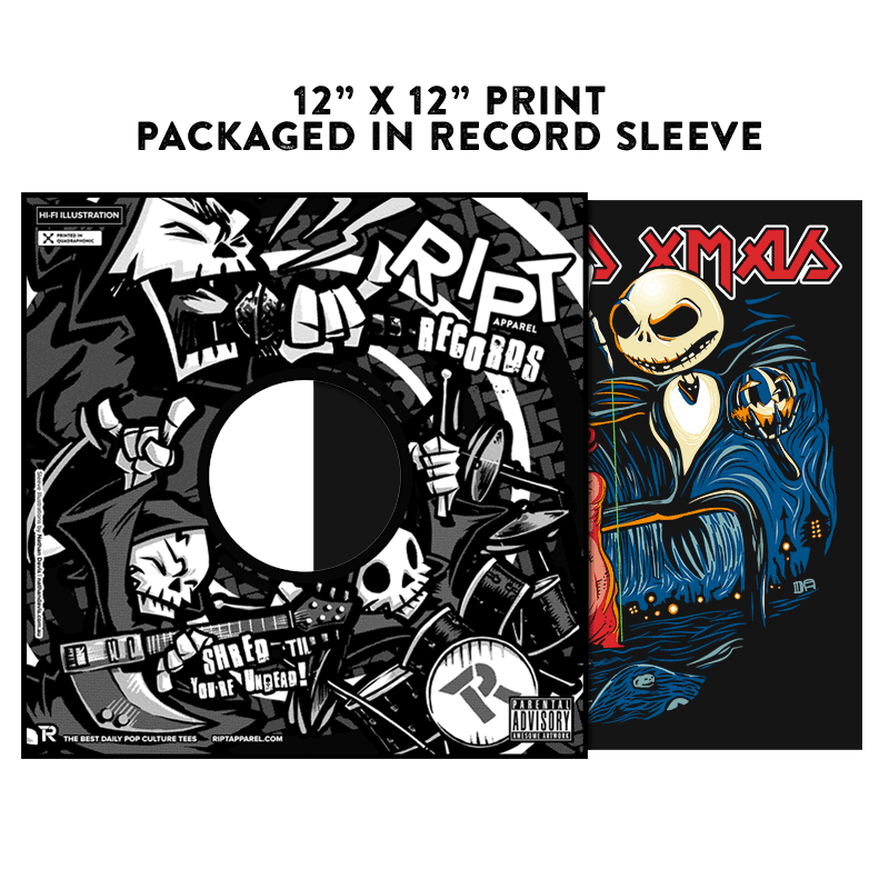 I Ruined Xmas - Album Cover Prints - Posters - RIPT Apparel