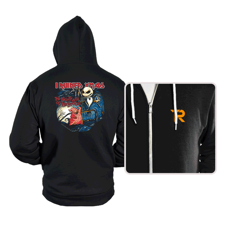 I Ruined Xmas - Hoodies - Hoodies - RIPT Apparel