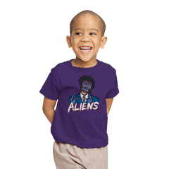 Because Aliens! - Youth - T-Shirts - RIPT Apparel