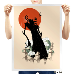 Deliverer of Darkness - Prints - Posters - RIPT Apparel