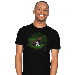The Furball and the Droid - Mens - T-Shirts - RIPT Apparel