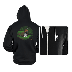 The Furball and the Droid - Hoodies - Hoodies - RIPT Apparel
