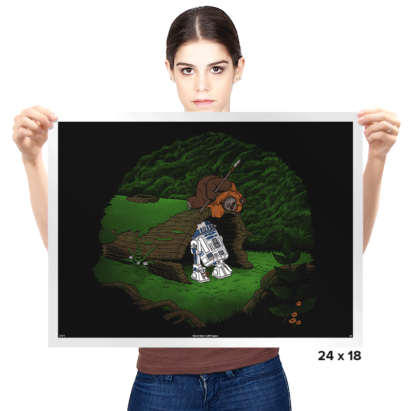The Furball and the Droid - Prints - Posters - RIPT Apparel