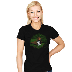 The Furball and the Droid - Womens - T-Shirts - RIPT Apparel