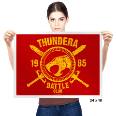 Thundera Battle Club - Prints - Posters - RIPT Apparel